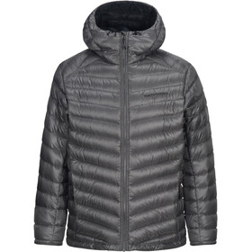 Peak Performance Ice Down Hooded Chaqueta Hombre, quiet grey